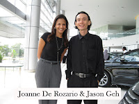 MC Joanne De Rozario flanked by Jason Geh
