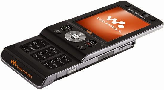 Мобильный телефон Sony Ericsson W910i Black тонкий стильный элегантный музыкальный слайдер