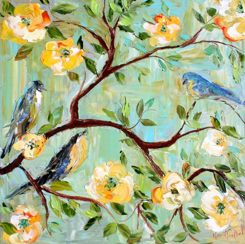 Karen tarlton spring bird song spring bird song mightylinksfo