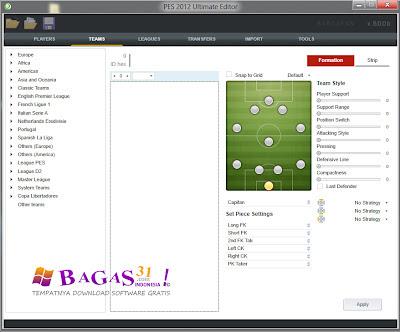 PES 2012 Ultimate Editor 3