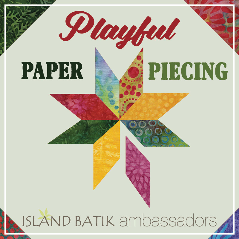 This months Theme for the Island Batik Ambassadors