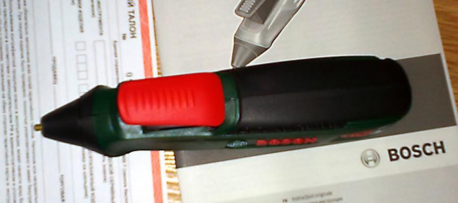 Bosch Glue Pen вид сверху