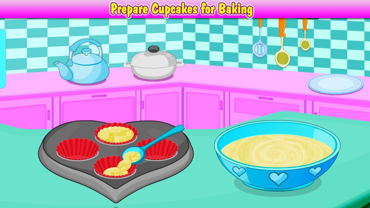 Готовим кексы с папа луи играть