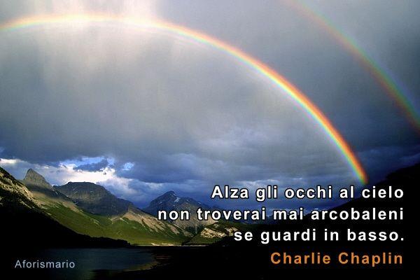 Exceptionnel Aforismario®: Arcobaleno - Aforismi, frasi e proverbi GB56