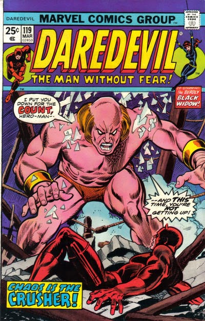 Daredevil #119, the Crusher