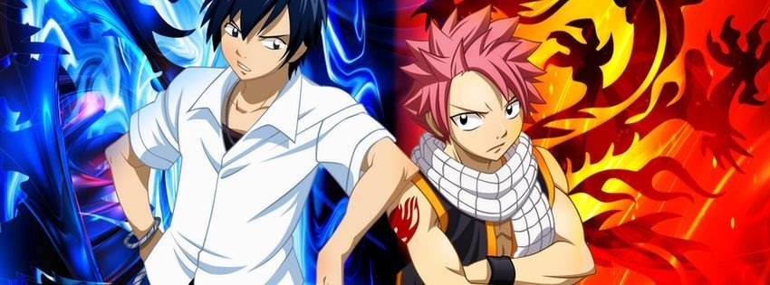 Photo de couverture facebook fairy tail