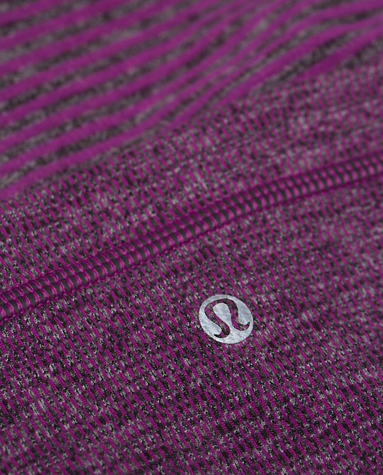 lululemon ultra violet black mini check pique