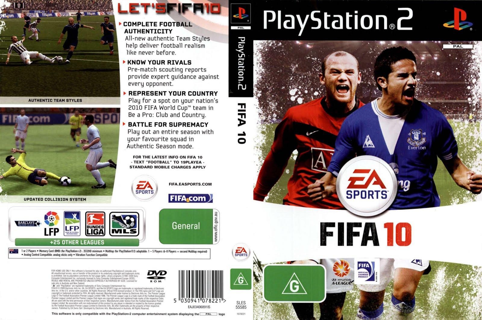 fifa soccer 2011 ps2