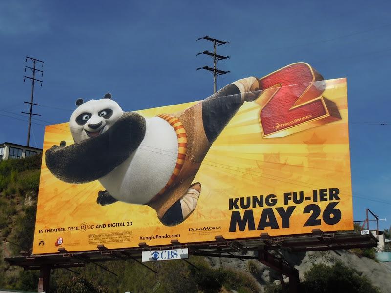 Kung Fu Panda 2 movie billboard