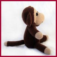 Mono tradicional amigurumi