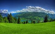 Imagens de Fundo: Imagem de FundoBela paisagem sobre montanhas, . (bela paisagem sobre montanhas em tons verdes imagens imagem de fundo wallpaper para pc computador tela gratis ambiente de trabalho)