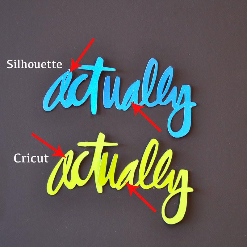 silhouette machine vs cricut