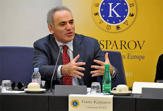 Garry Kasparov Photo © Kasparov Chess Foundation Europe