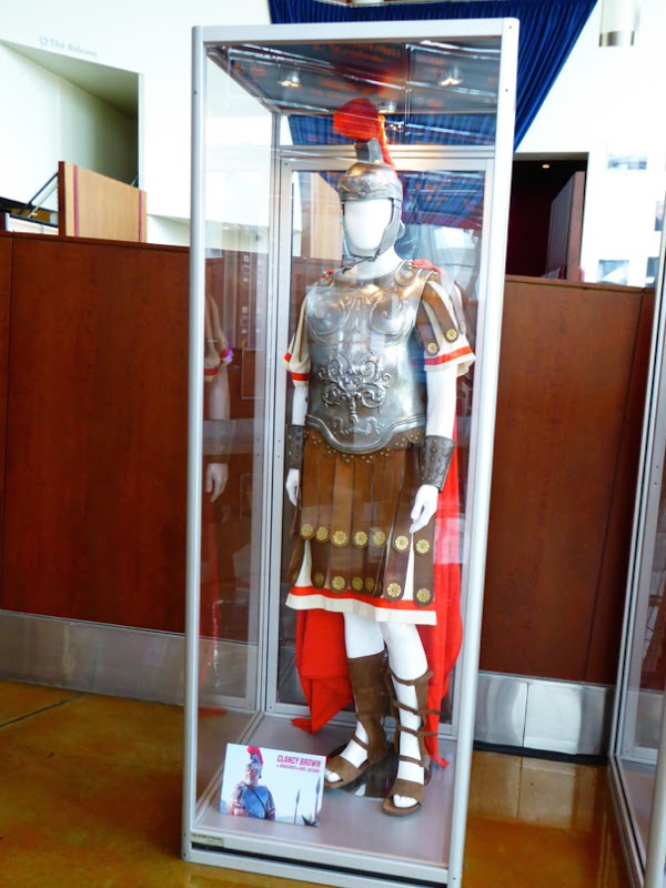 Clancy Brown Roman Centurion costume Hail Caesar