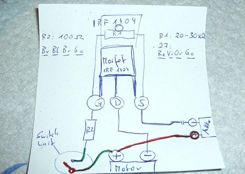 Airsoft Austria Technician: Simples MOSFET Tutorial - Infos und ...