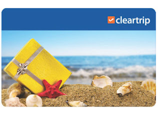 Buy Cleartrip Gift Cards worth Rs.2000 at Rs.1700 only