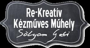 Re-Kreativ Blog - dekupázs, dekoráció, DIY