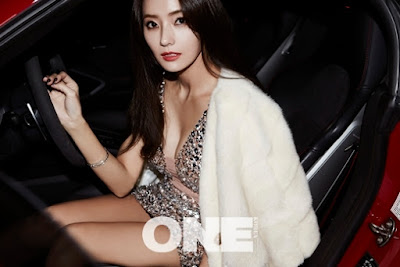 Han Chae Young - One Magazine January Issue 2016