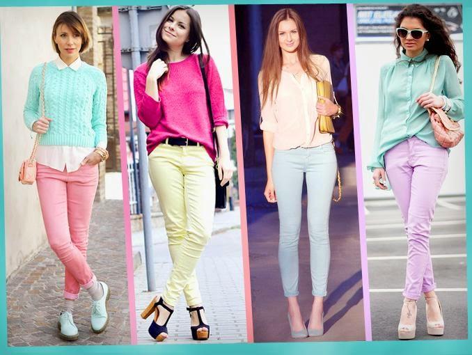 Usa Colores Pastel en tu ropa