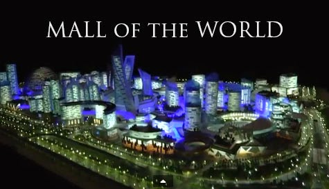 Dubai is building Mall of the World
