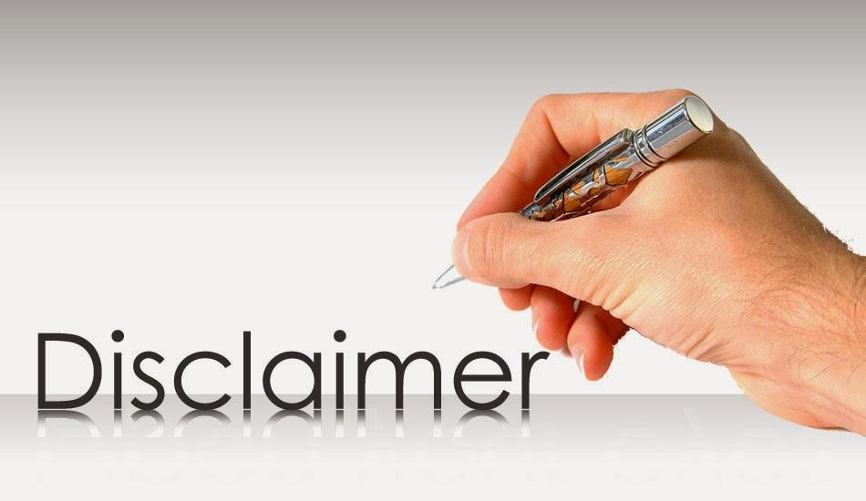 Cara Membuat Laman Disclaimer di Blog untuk Adsense