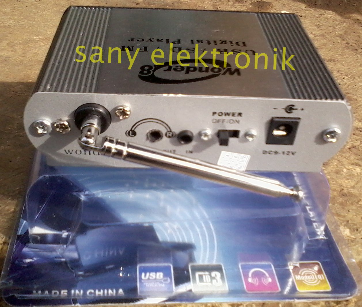 SANY ELEKTRONIC USB DRIVER MP 3