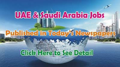 Jobs in UAE & Saudi Arabia jobs