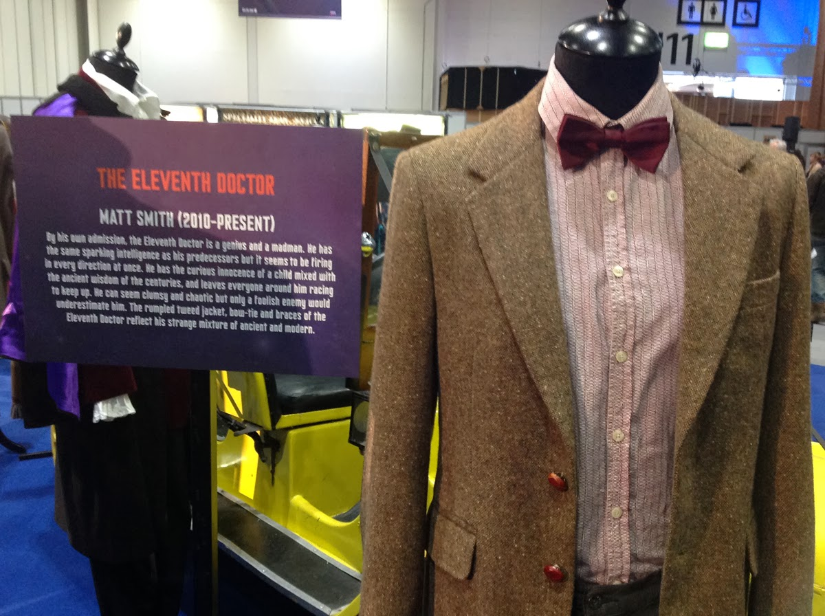 Making my 11th doctor costume doctor who celebration for Paul smith doctor who shirt