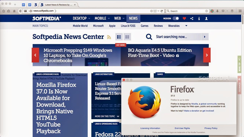 Mozilla Firefox 37.0 - O que mudou?