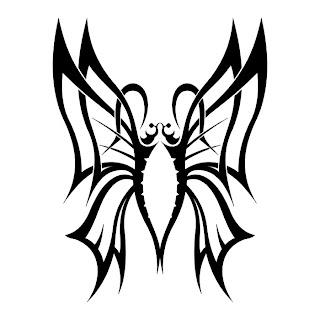 Butterfly Tattoo Stencils