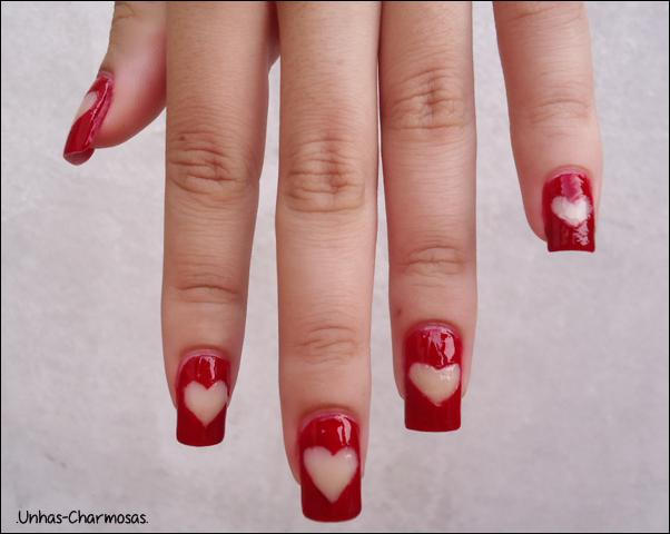 nail art de coração, unha de coração, unha de coração vazado, unha com espaço vazado, nail art, nail art cute, nail art fofa, unhas fofas, unhas lindas
