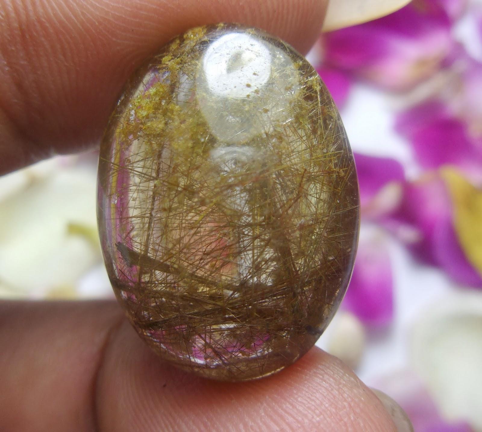 Batu Bertuah, Benda Pusaka, Mustika Asli, Mustika Susuk Emas