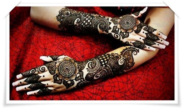 Mehndi For Right Hand Back Side : Best mehandi designs for back side of the hand