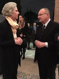 Con L'ambasciatore di Germania