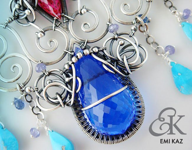 Emi Kaz Design - Wire Art and Fashion Jewelry