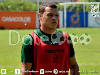 Oriente Petrolero - Hugo Fernando Souza - Pretemporada 2016 - DaleOoo.com web del Club Oriente Petrolero