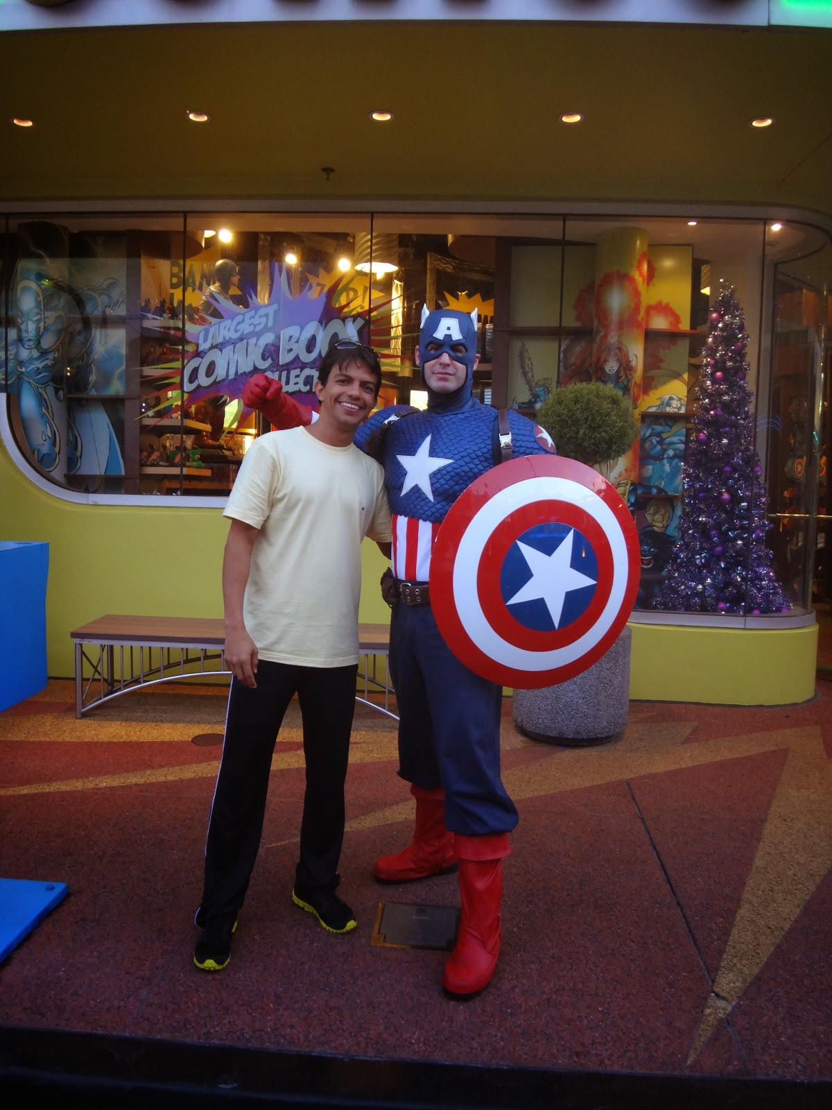 capitao america - island of adventure - orlando, estados unidos