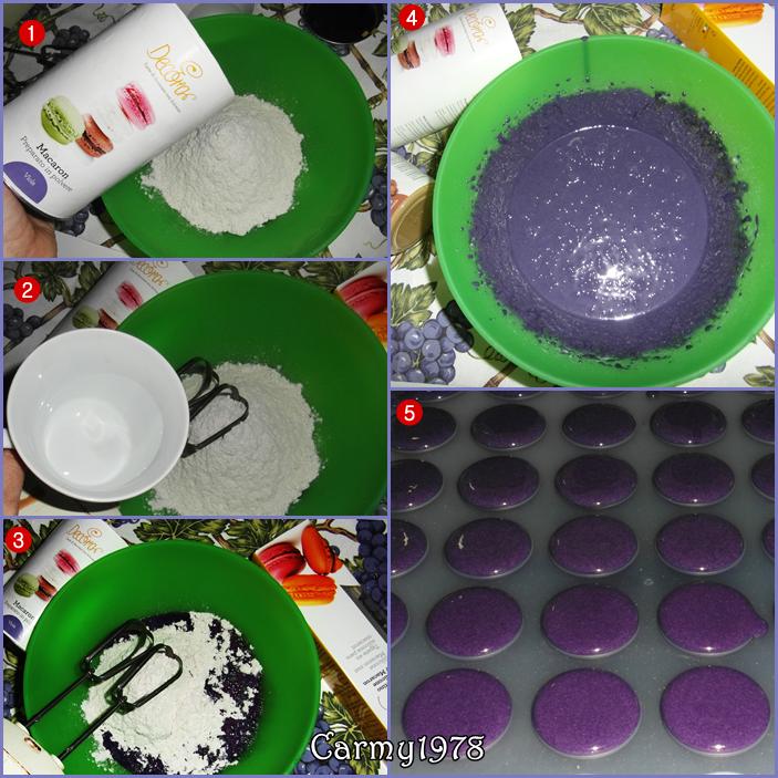 Macarons-Viola