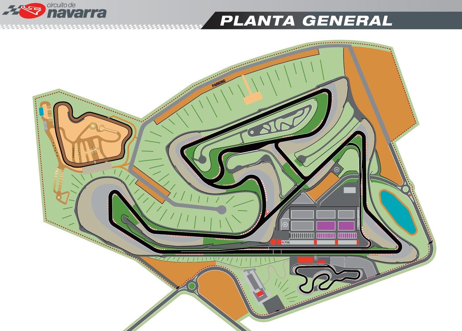 Circuito Navarra : C d beton instrucciones para el circuito