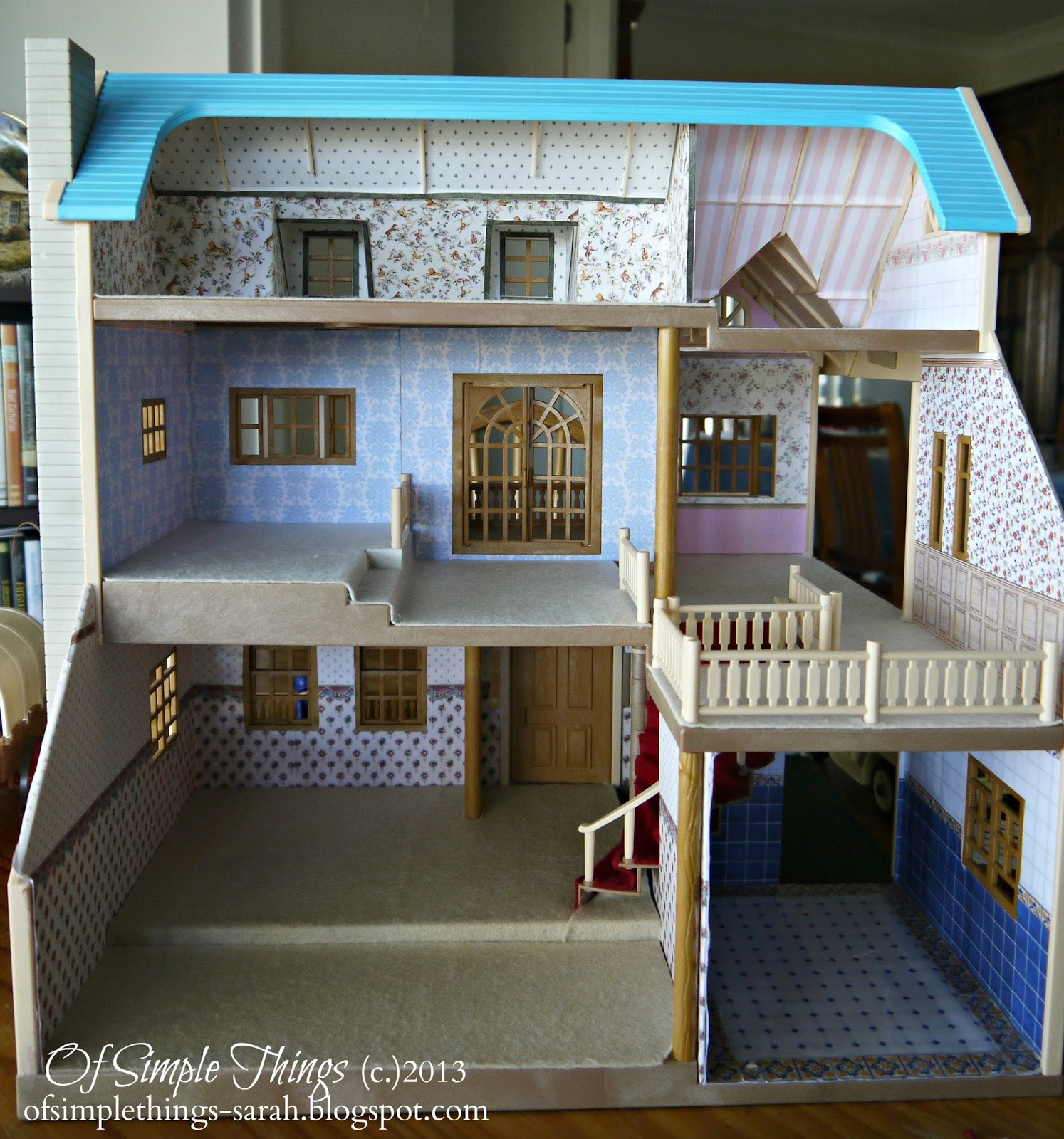 Of Simple Things: Dollhouse Decorating (Part 1)
