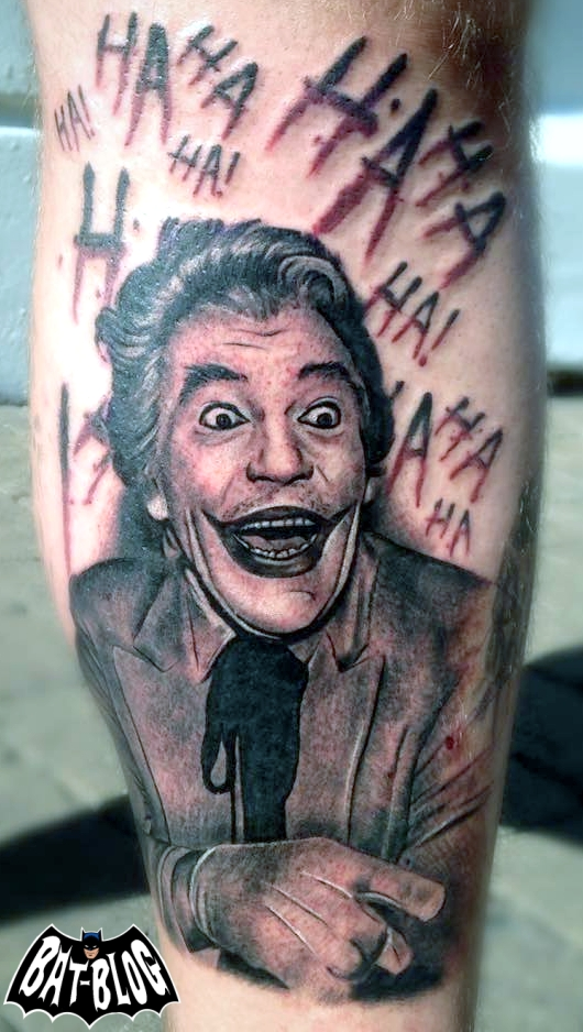 Bat blog batman toys and collectibles check out this for The joker tattoo