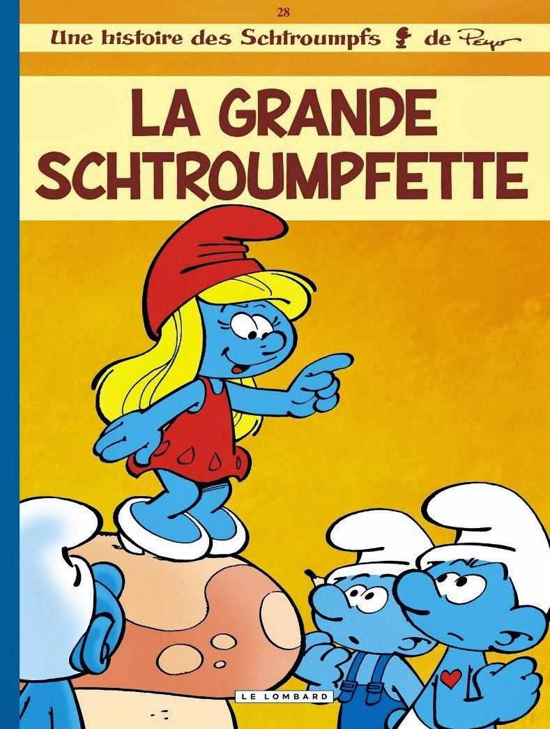 Les schtroumpfs et les visions de la soci t maux de la soci t moderne - Le grand schtroumpf et la schtroumpfette ...
