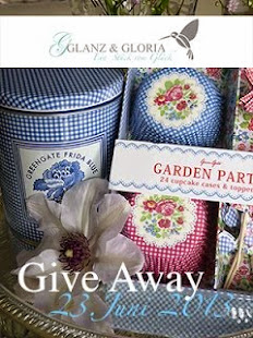 Give Away bei Glanz und Gloria
