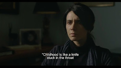 Childhood is like a knife