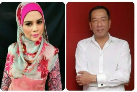 Kad ucapan sayu ulangtahun kedua perkahwinan untuk Ramli Ms dari Alyah