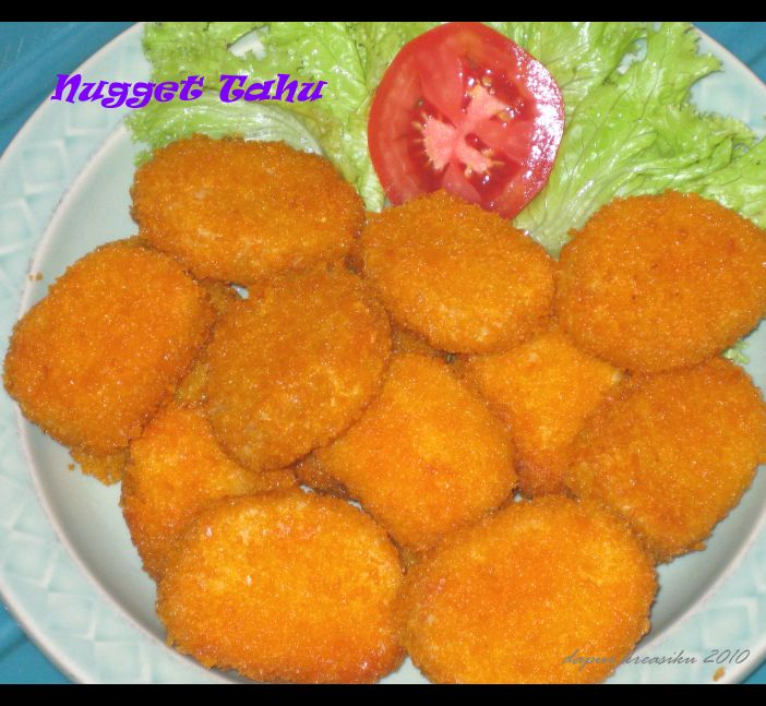 Nugget Ayam Tahu: Dapur KreasiKu: Nugget Tahu