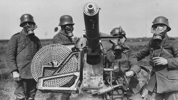 quais os ganhos e inventos tecnologicos da primeira guerra mundial