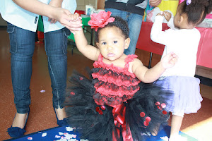 Our little ladybug - 12 months