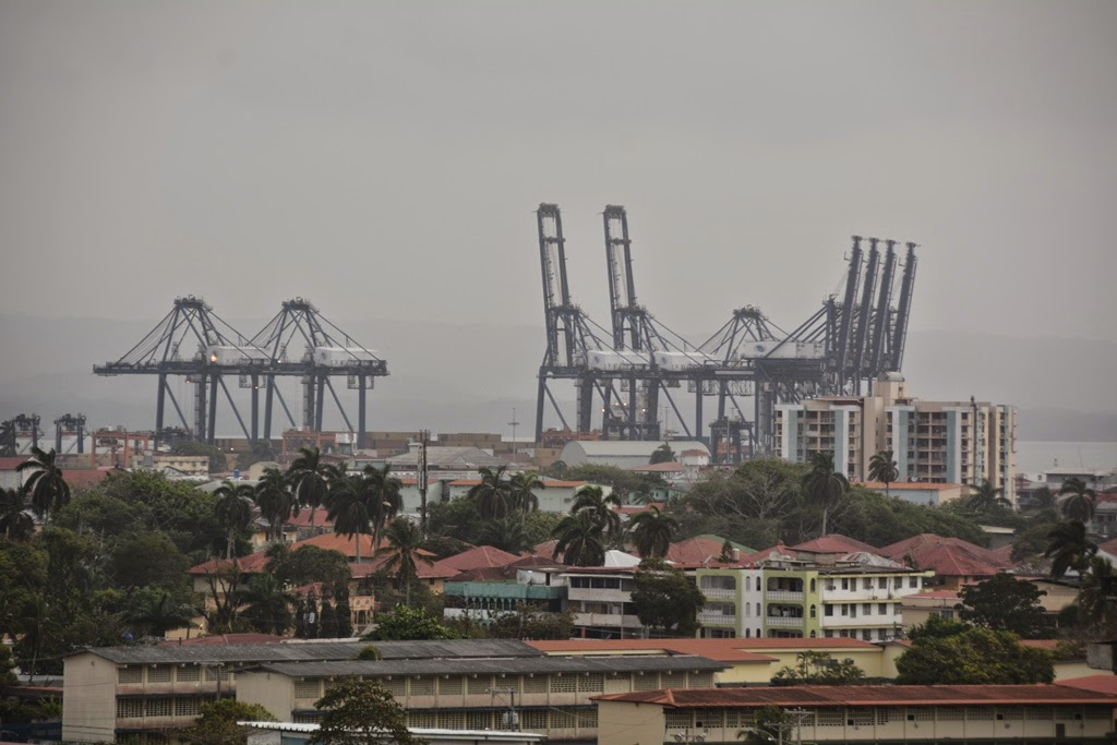 Port of Colón, Panama
