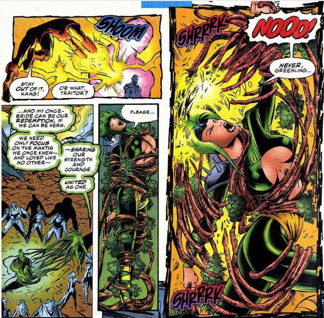 Avengers 395 Mantis